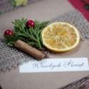 Kartka świąteczna - Eko