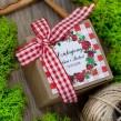 Pudełeczka dla gości Różana Kratka