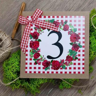 Numerek Różana Kratka