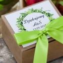Pudełeczka dla gości Zielony Wianek