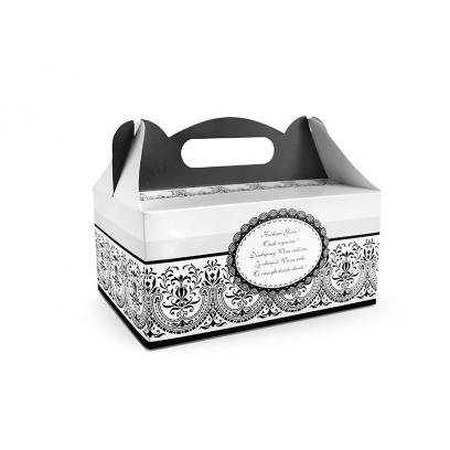 Pudełka Black&White opakowanie 10szt.