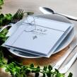 Zaproszenia ślubne Classic srebrne
