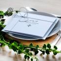Zaproszenia ślubne złote-srebrne