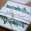 Zaproszenia ślubne Rustykalna Sosna