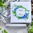 Zaproszenia ślubne Elegancka Hortensja