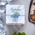 Pudełeczka dla gości Elegancka Hortensja