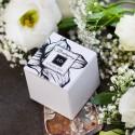Pudełeczka dla gości Węglem Malowane