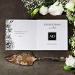 Zaproszenia ślubne Węglem Malowane