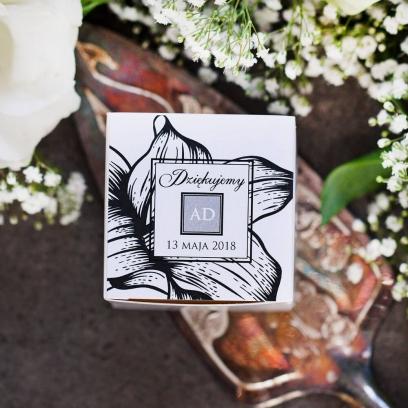 Pudełeczka dla gości Węglem Malowane Soft