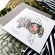 Zaproszenia ślubne Retro Car