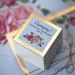 Pudełeczka dla gości Złote Lustro