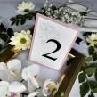 Numerek Classic różowy