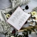 Menu Classic wrzosowy róż
