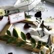 Winietki ślubne Classic wrzosowy róż