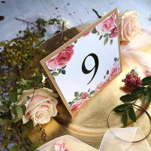 Numerek Rustykalna Róża