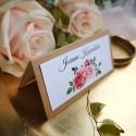 Winietki ślubne Rustykalna Róża