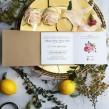 Zaproszenia ślubne Rustykalna Róża