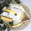 Zaproszenia ślubne Glamour Gold