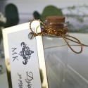 Buteleczka szklana Glamour Gold