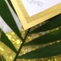 Zawieszki Lady Brokat złote