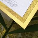 Winietki ślubne Lady Brokat złote