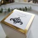 Pudełeczka dla gości Glamour Gold