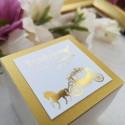 Pudełeczka dla gości Złote Retro