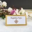Winietki ślubne Złote Retro