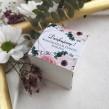Pudełeczka dla gości Romantyczne Anemony