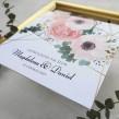 Zaproszenia ślubne Romantyczne Anemony