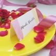 Winietki ślubne Pink & Lemon