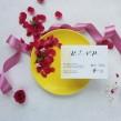 Zaproszenia ślubne Pink & Lemon