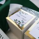Pudełeczka dla gości Gałązki Oliwne