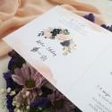 Zaproszenia ślubne Akwarelowy Coral