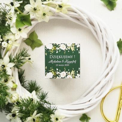 Pudełeczka dla gości Biała Róża