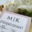 Pudełeczka dla gości Stylowe Różane