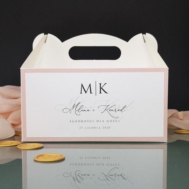 Pudełka na ciasto Stylowe Różane