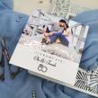 Zaproszenia ślubne ze zdjęciem 3 srebrzone