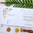 Zaproszenia ślubne Geometryczne Serce