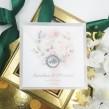 Zaproszenia ślubne Akwarelowa Róża