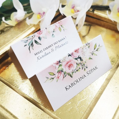 Winietki ślubne Akwarelowa Róża