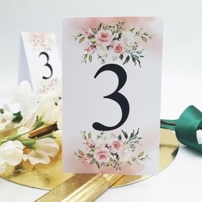 Numerek Akwarelowa Róża