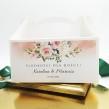 Pudełka na ciasto Akwarelowa Róża