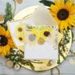 Zaproszenia weselne słoneczniki