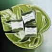 Podziękowanie zielono złote pudełeczka dla gości