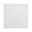 Standardowa koperta ślubna do zaproszeń w kolorze białym