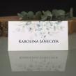 Eukaliptus najpopularniejsza roślina weselna na winietce na stół