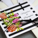 Zaproszenia ślubne Szykowne Paski