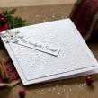 Kartka świąteczna - Śnieżynka
