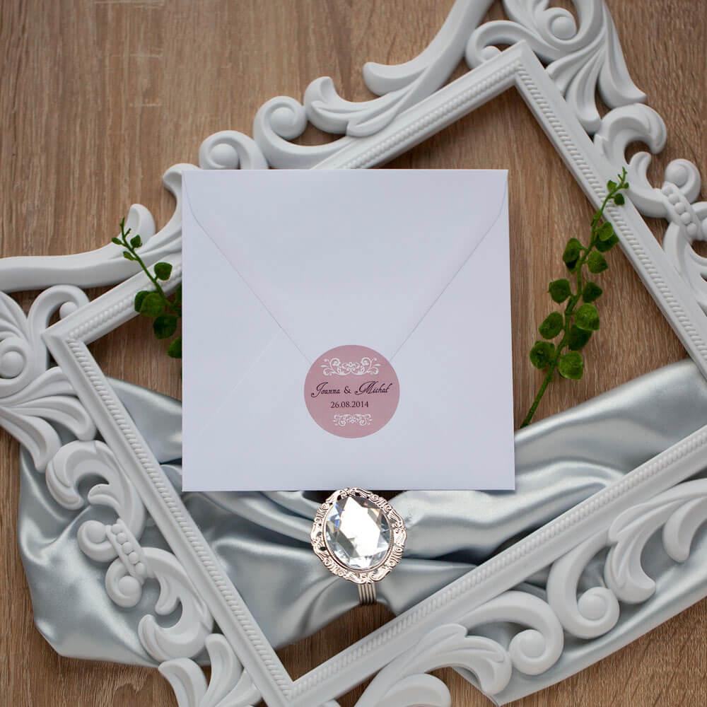 naklejka-na-koperty-ślubne-rozowe